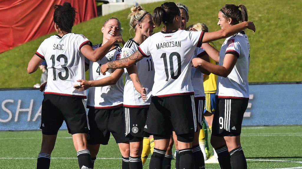 Pressão funciona, e Alemanha vence a China na Copa do Mundo feminina Menina10