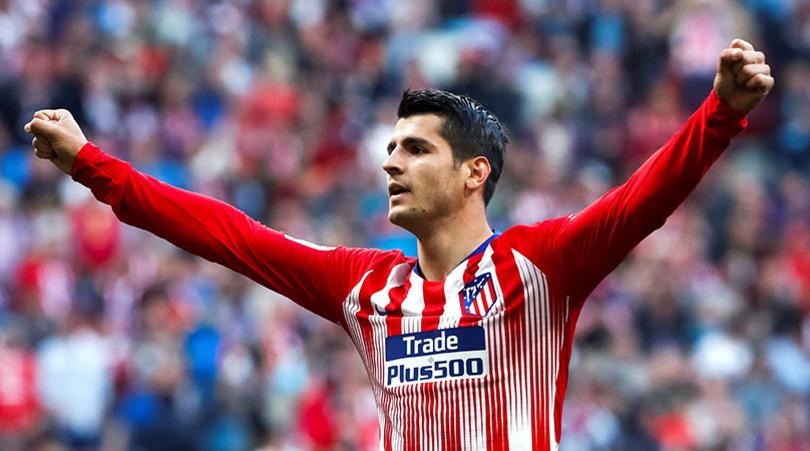 Atlético de Madrid anuncia acordo com o Chelsea por Morata Morata10