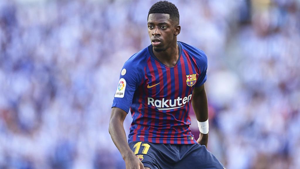 """Barcelona se conforma com solução """"caseira"""" para Suárez: Dembélé está voltando Ousman12"""