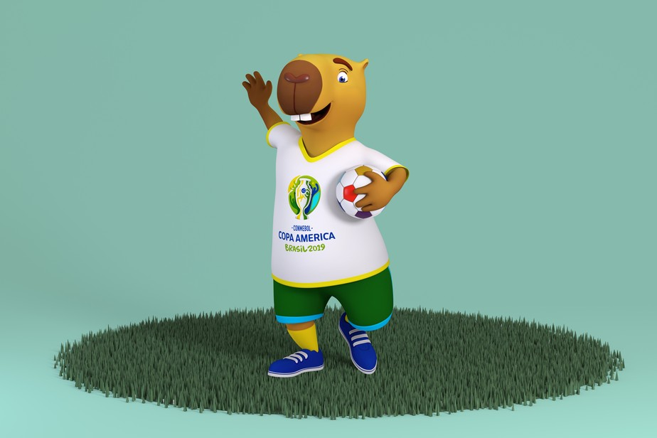 Mascote da Copa América irá se chamar Zizito; entenda origem do nome Posica10