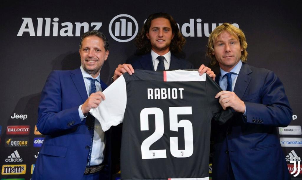 """""""A Juventus está muito acima do PSG"""", provoca Rabiot ao ser apresentado na Itália Rabiot12"""