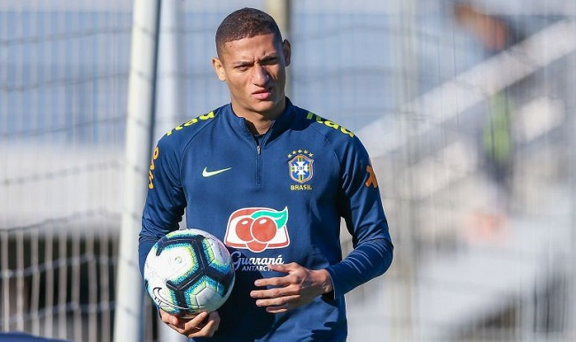 Richarlison volta à seleção brasileira e se diz pronto para enfrentar a Argentina Richar10