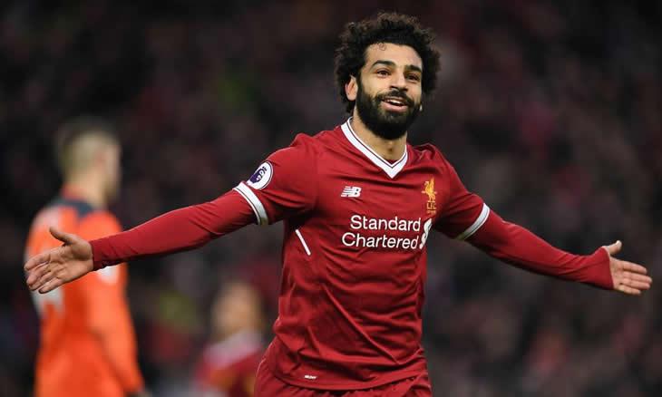 """Salah convoca torcida do Liverpool para final da Champions: """"levem Anfield para Madrid"""" Salah10"""