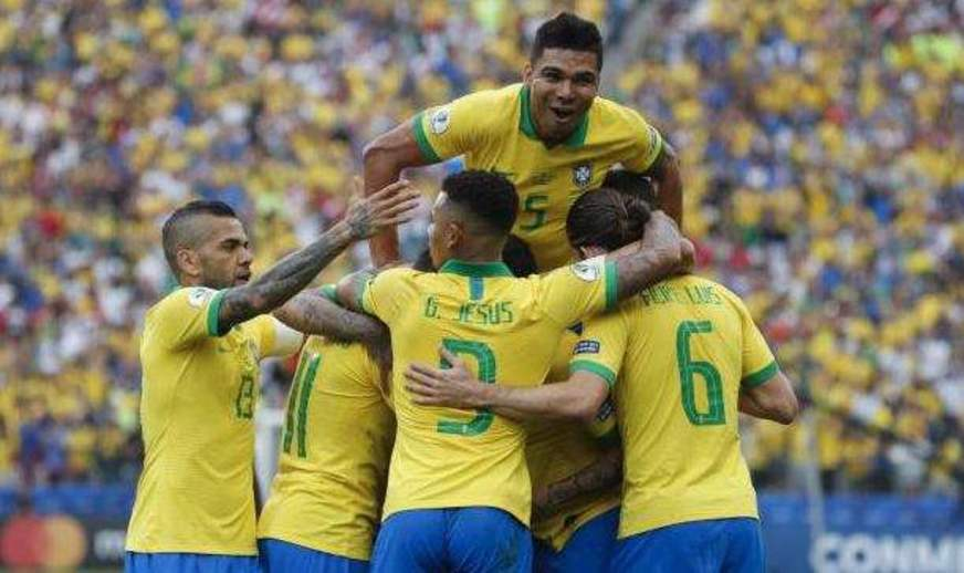 Contra fantasma do Paraguai, Brasil busca semifinal da Copa América Show_a10
