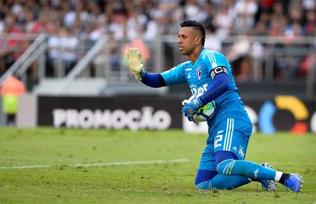Vasco acerta a contratação do goleiro Sidão, ex-São Paulo Sidao10