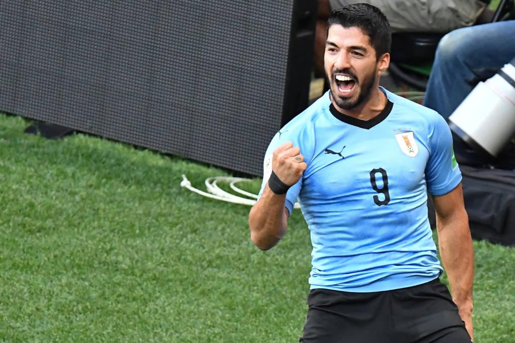 Suárez volta com golaço, e Uruguai vence Panamá antes da Copa América Suiare10