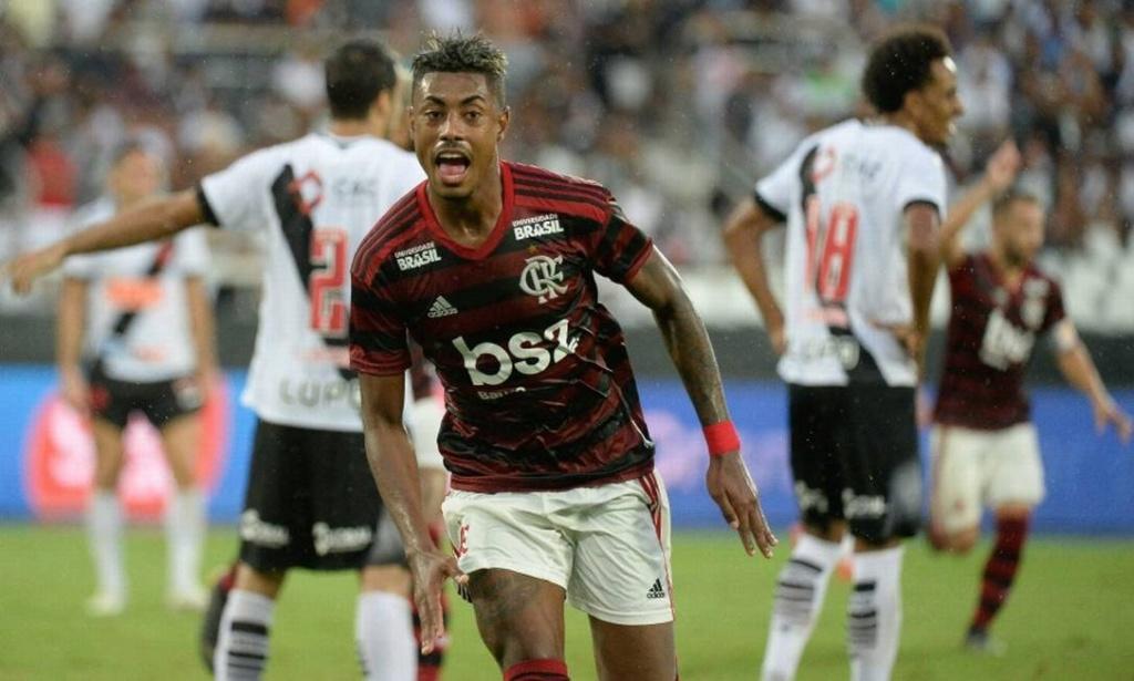 Bruno Henrique, do Flamengo: artilheiro do Carioca e maior garçom da Libertadores X0155510