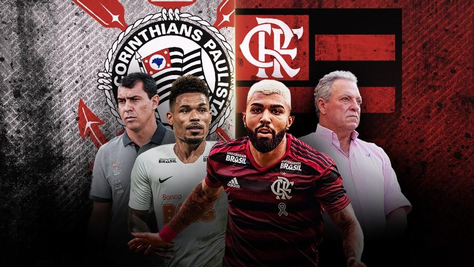 Flamengo e Corinthians decidem mais uma vez vaga na Copa do Brasil Xvet7p10