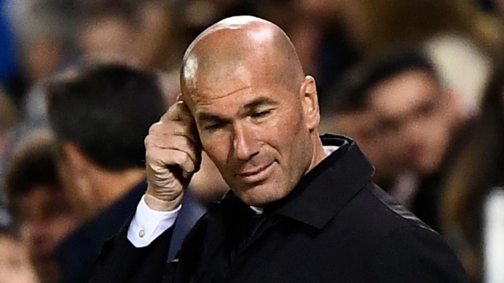 Zidane terá trabalho: Real Madrid terminará temporada perto de recorde de derrotas Zinedi10