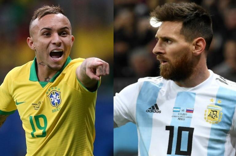 Brasil e Argentina fazem clássico inédito na semi da Copa América Zovert10