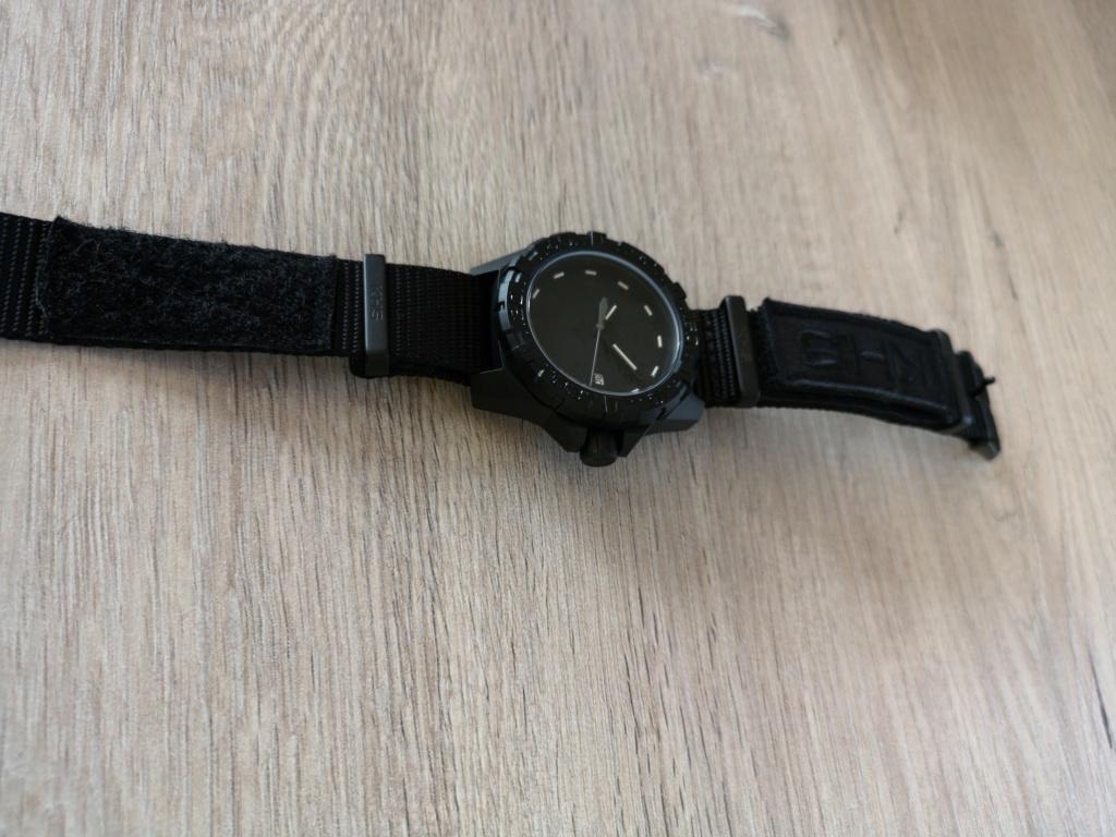 Montre KHS à bracelet NATO / Une technique pour la serrer ? 110