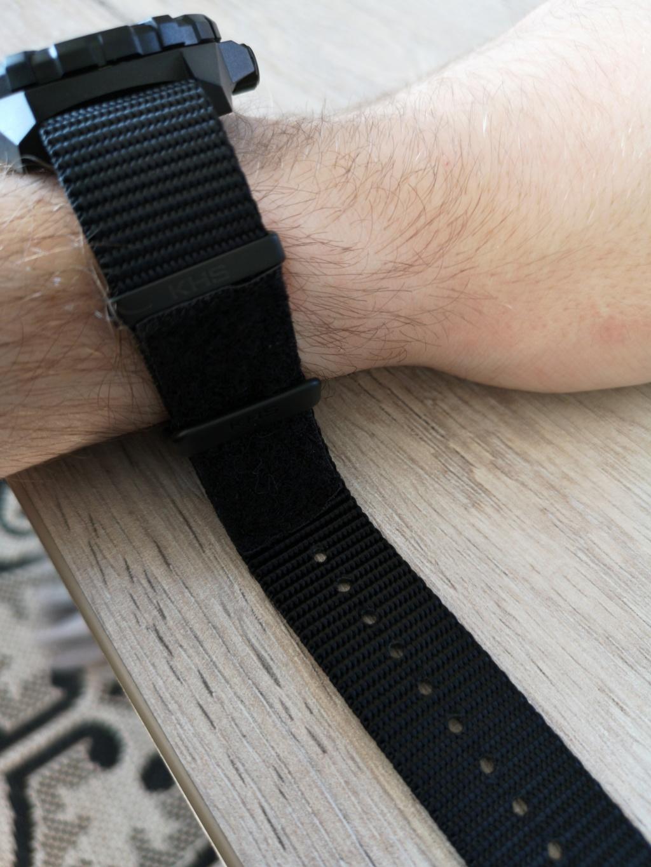 Montre KHS à bracelet NATO / Une technique pour la serrer ? 210