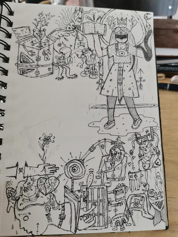 Un dessin par jour, qui veut jouer? - Page 19 Img_2035