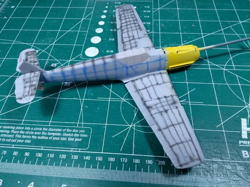 Bf 109 E-4 Eduard 1/48 Img_2518