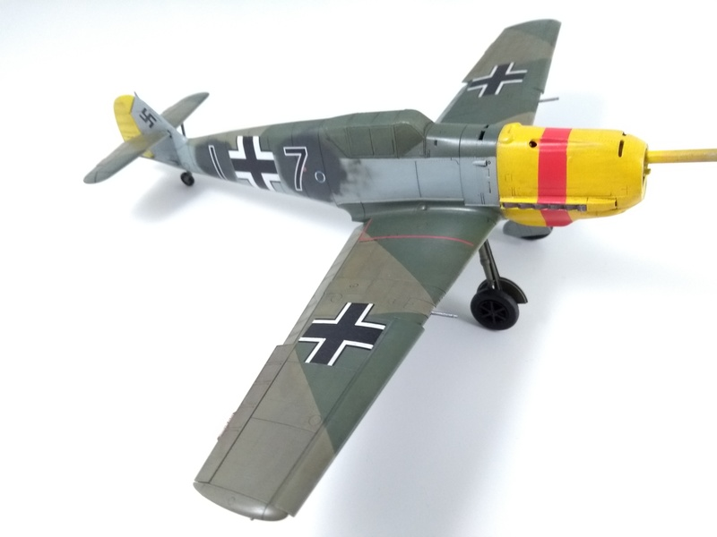 Bf 109 E-4 Eduard 1/48 Img_2540