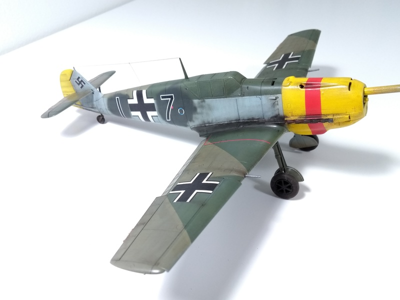 Bf 109 E-4 Eduard 1/48 Img_2541