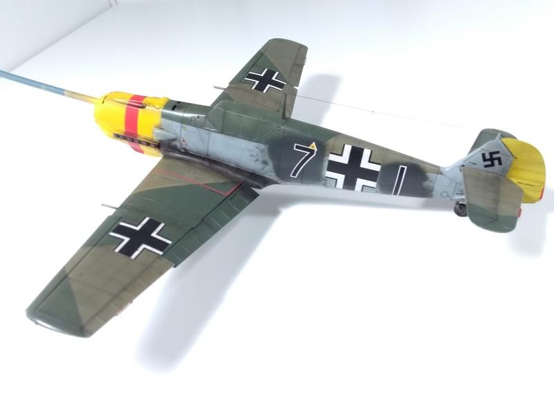 Bf 109 E-4 Eduard 1/48 Img_2542