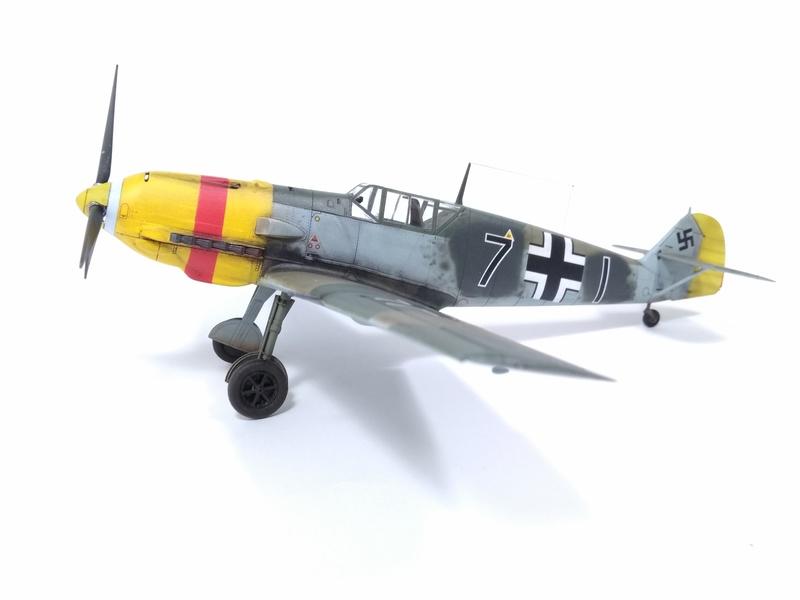 Bf 109 E-4 Eduard 1/48 Img_2549