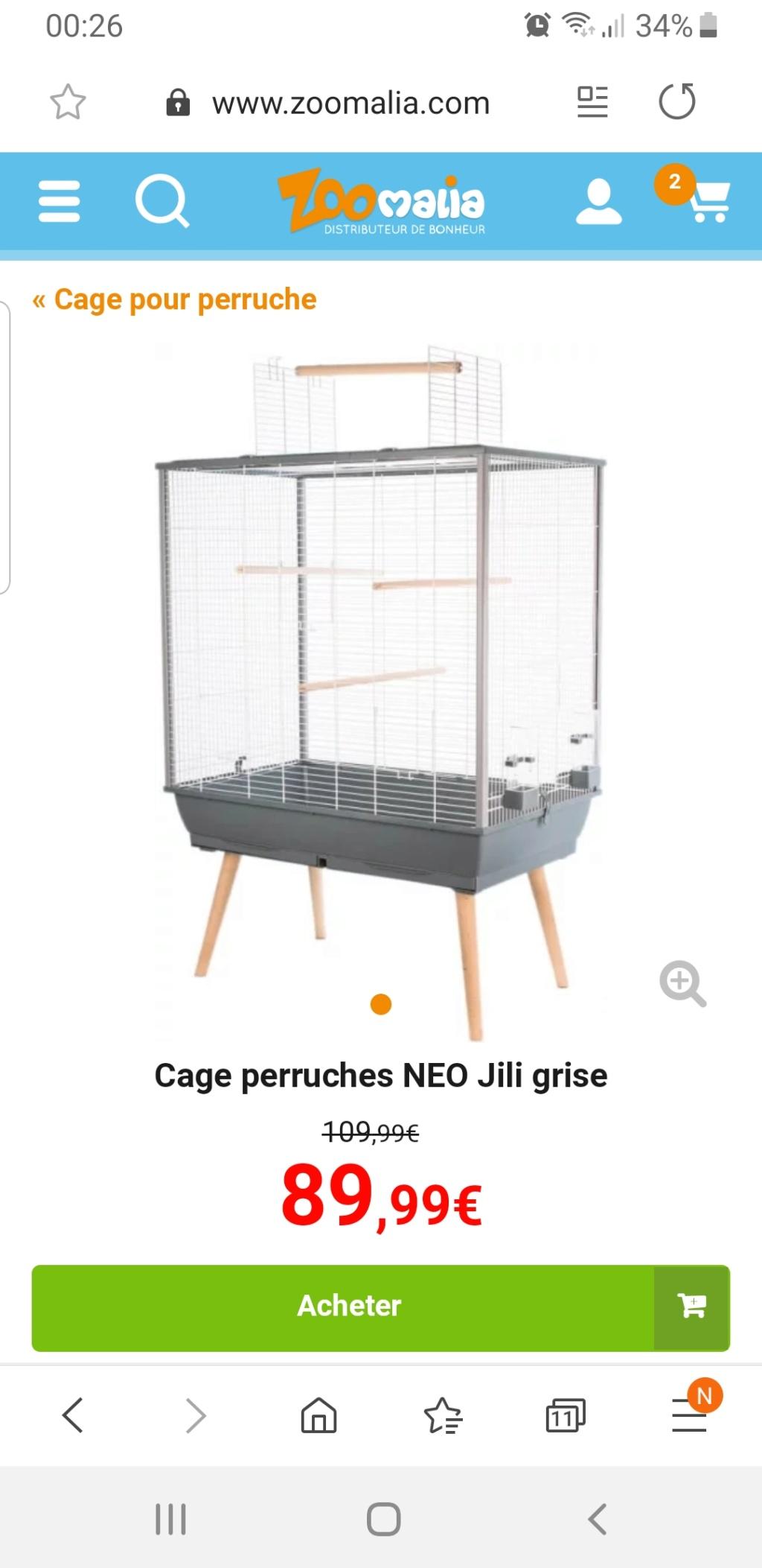 Combien de perruche puige mettre dans ma cage  Screen10
