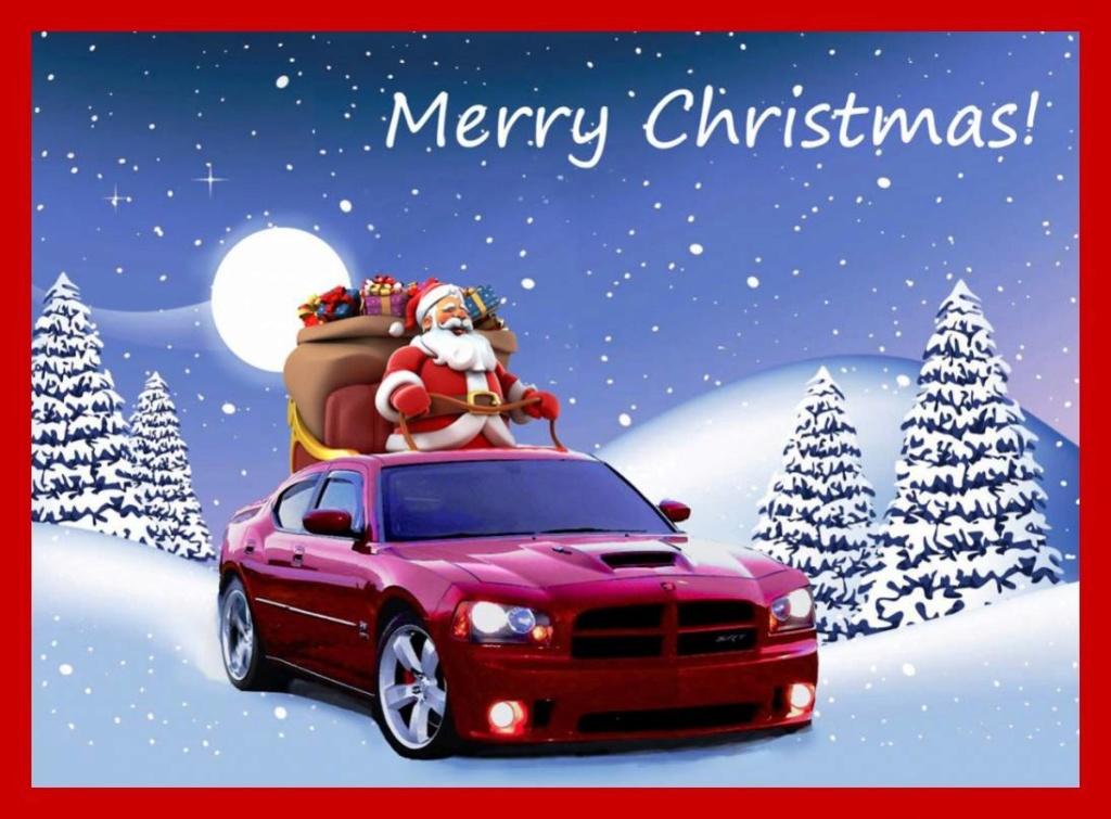 Christmas Dodge  12681610