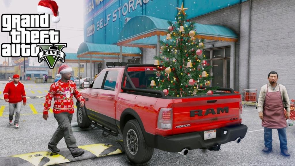 Christmas Dodge  Maxres11