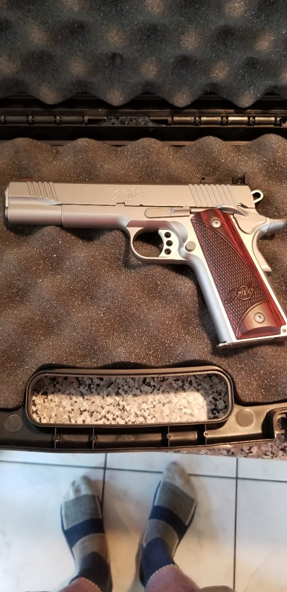 Kimber 1911 Stainless II Target 5 inch 20190911