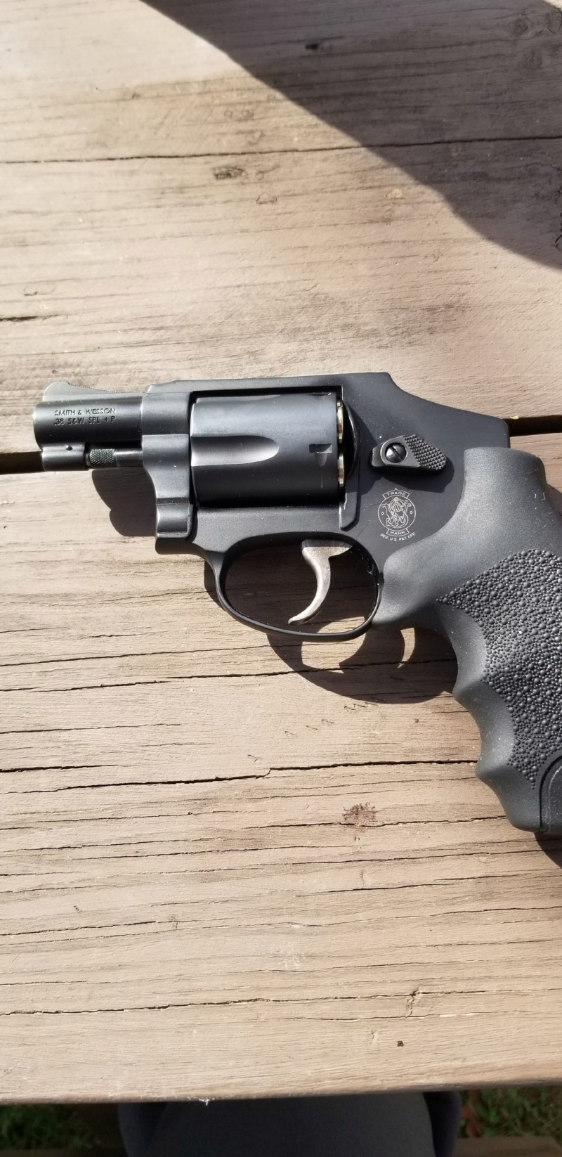 Smith and wesson 442 revolver ---No longer for sale 20191013