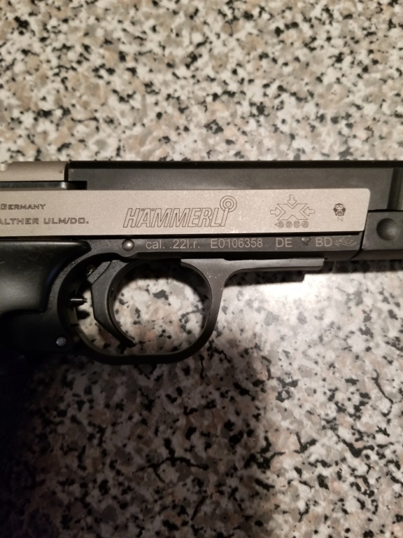 SOLD-Walther hammerli xesse like new 20191223