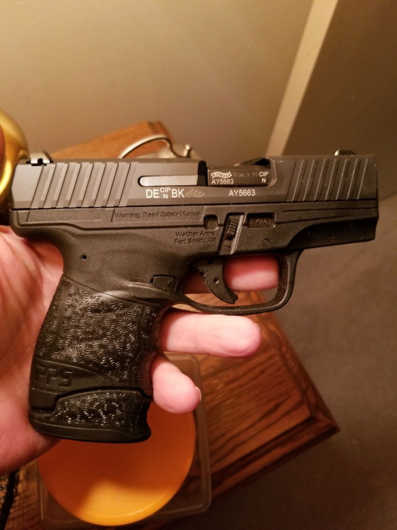 Walther PPS 9mm LE 20191231