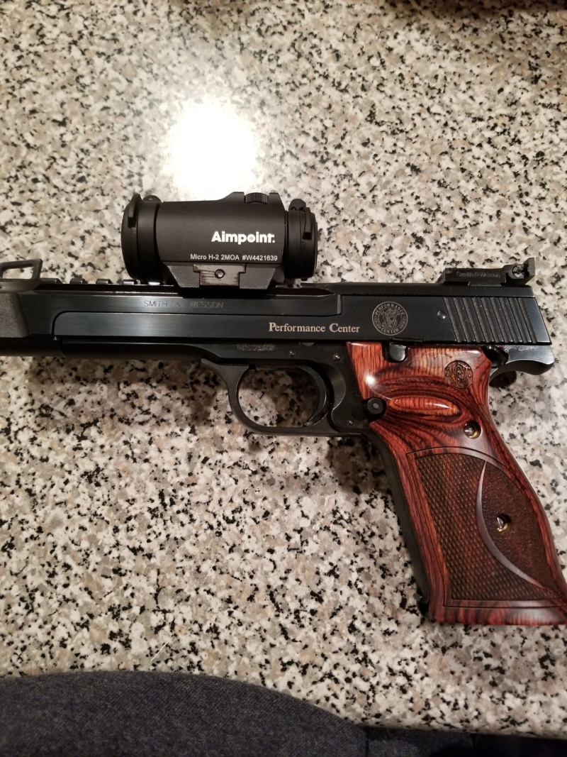 FS Stunning Smith and Weson Model 41 with Aimpoint H2 red dot. 20191233