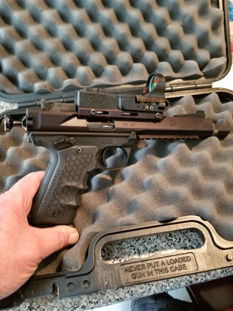 The Amazing Volquarsten Pistol and optic  review. 20200210