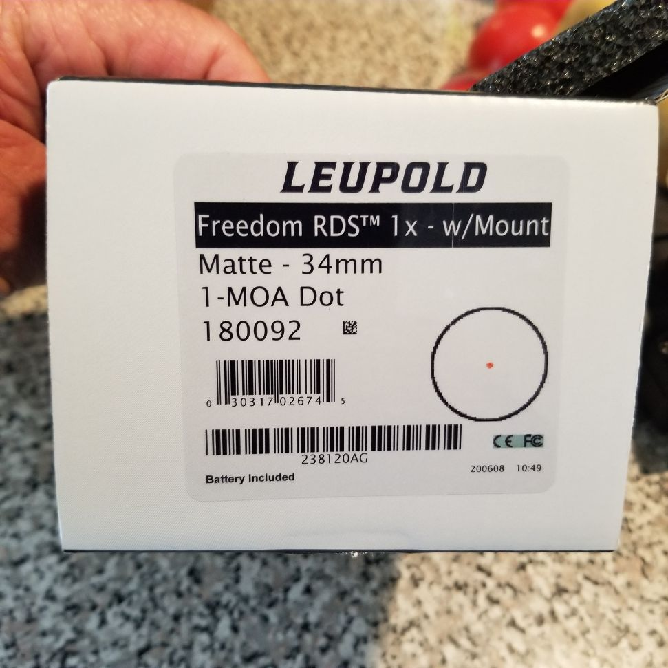 Leupold Freedom Red dot 20200923