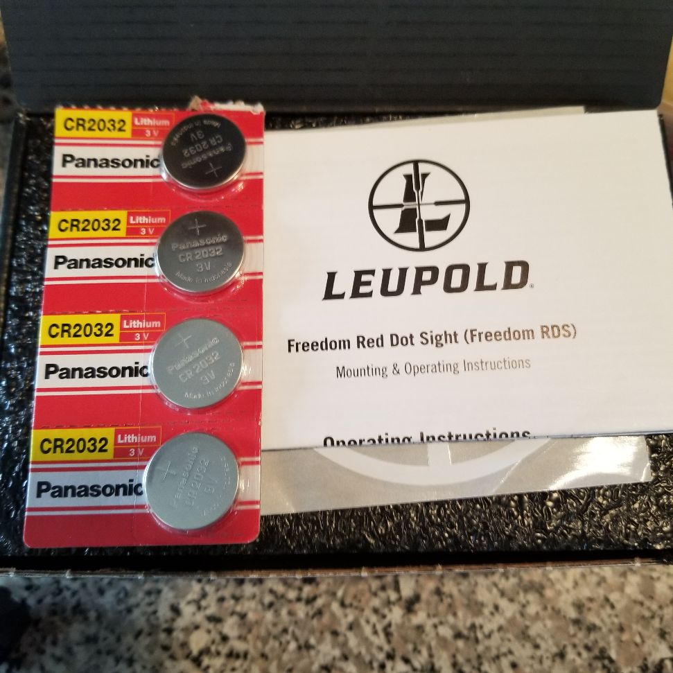 Leupold Freedom Red dot 20200925
