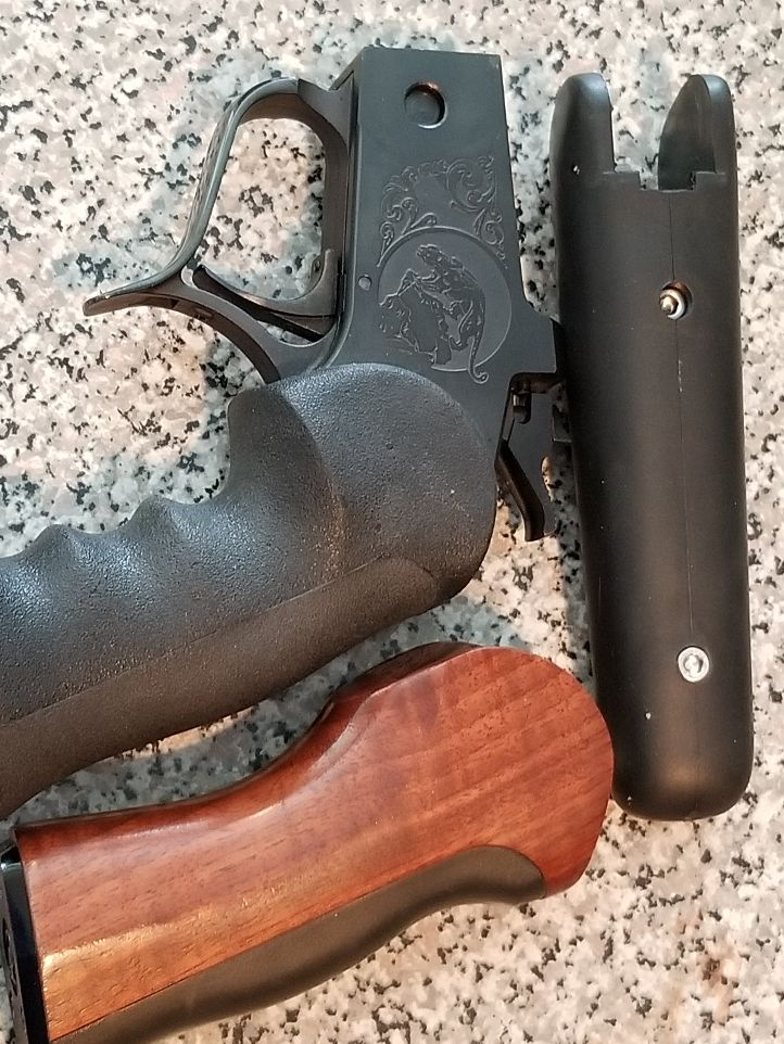 Thompson center contender frame grips and fore end. 20210210