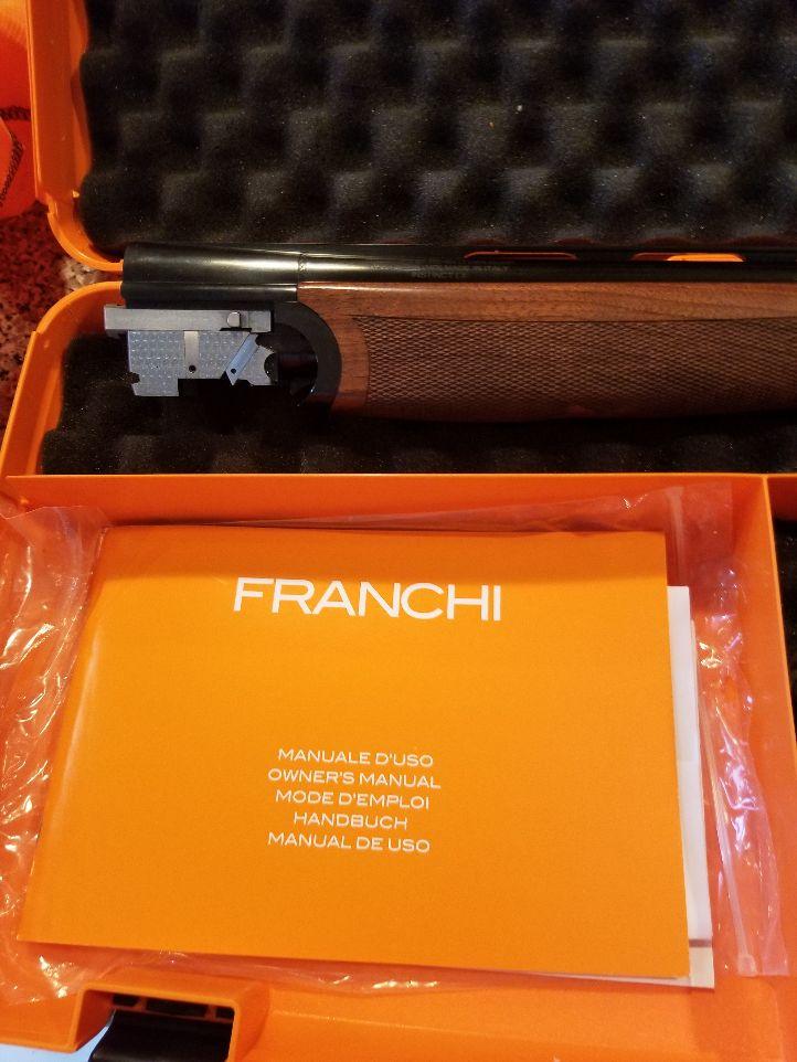 Franchi Intensity LX 20 GA.---Stunning Shotgun.  20210212