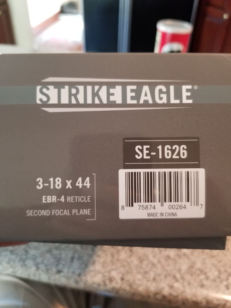 Vortex Strike Eagle 3-18 x 44 illuminated 20210810