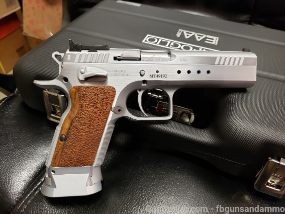 "NEW! EAA TANFOGLIO WITNESS ELITE LIMITED 9MM 4.75"" Pix95710"