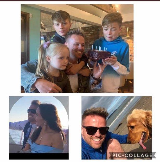 Nicky Byrne celebra su cumpleaños 41 mientras su esposa Georgina Ahern comparte adorables fotos. 0_coll10