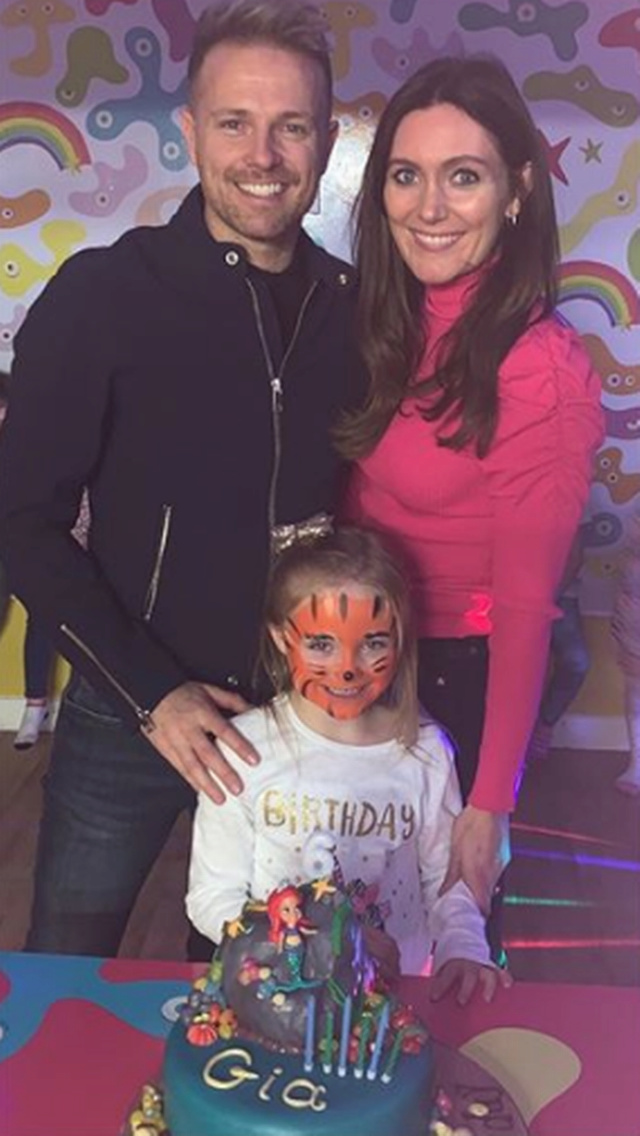 Nicky Byrne comparte fotos familiares tiernas del cumpleaños de su hija Gia 1_nick10
