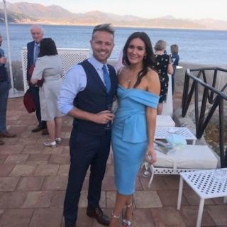 Nicky Byrne y su esposa Georgina posan en impresionantes fotos en una boda italiana 67559411