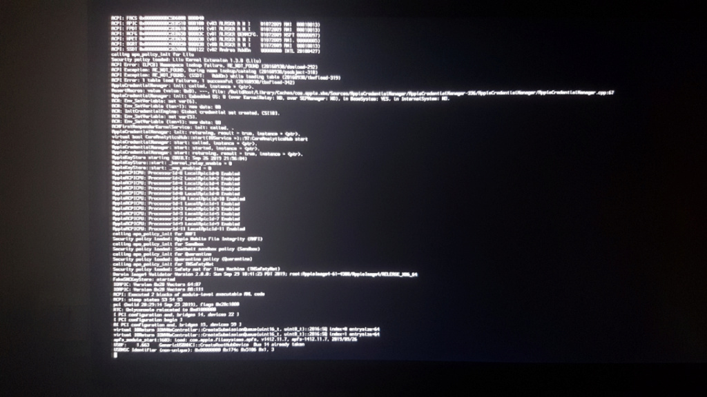 Probleme installation Macos Catalina depuis mojave 10.14.6 sur asus x79 deluxe 20191011