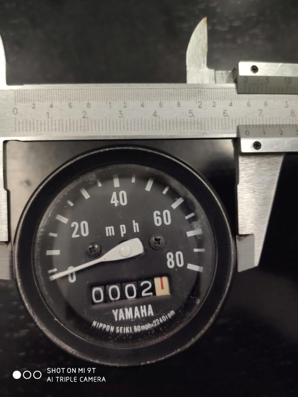 Compteur en km/h et cable pour Yamaha TY 125 (1982) Abbe4610