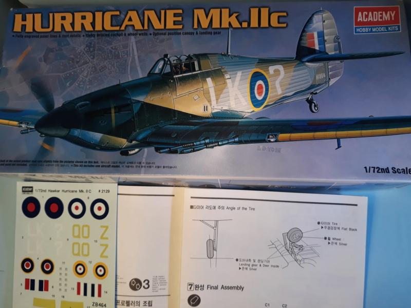 [Academy] Hawker Hurricane Mk.IIc. 20200410