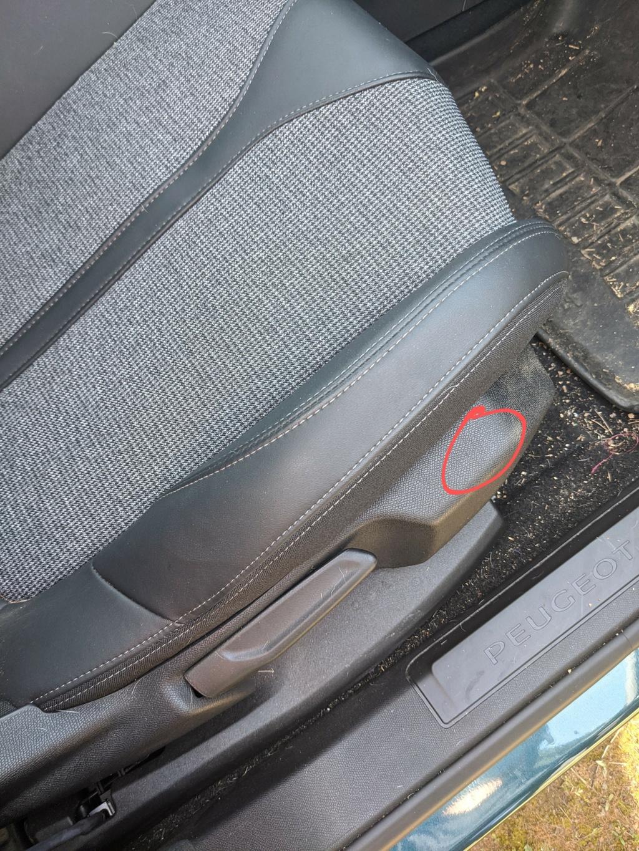 Desmontar tela asiento delantero 5008 allure Img_2010