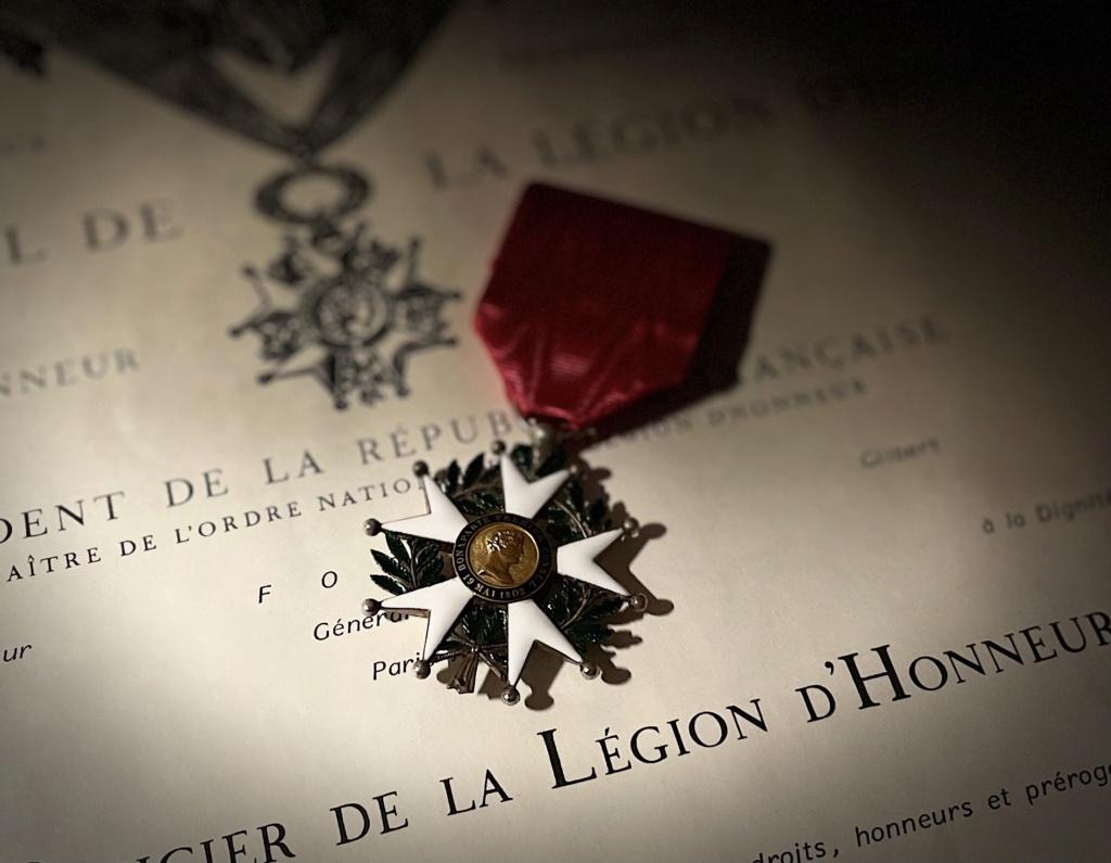 Peu de médailles françaises viennent de recevoir. 08ca8410