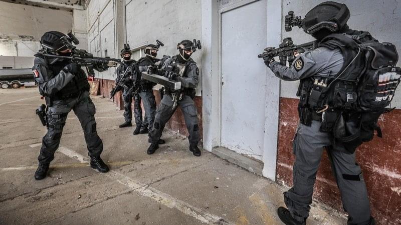 Combinaison d'intervention Commandos marine  112e3810