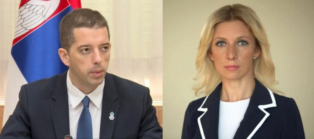 Glasnogovornica Ruskog Ministarstva Vanjskih Poslova ismijala Vučića u Washingtonu, Srbija bijesno odgovorila - Page 3 Captur10