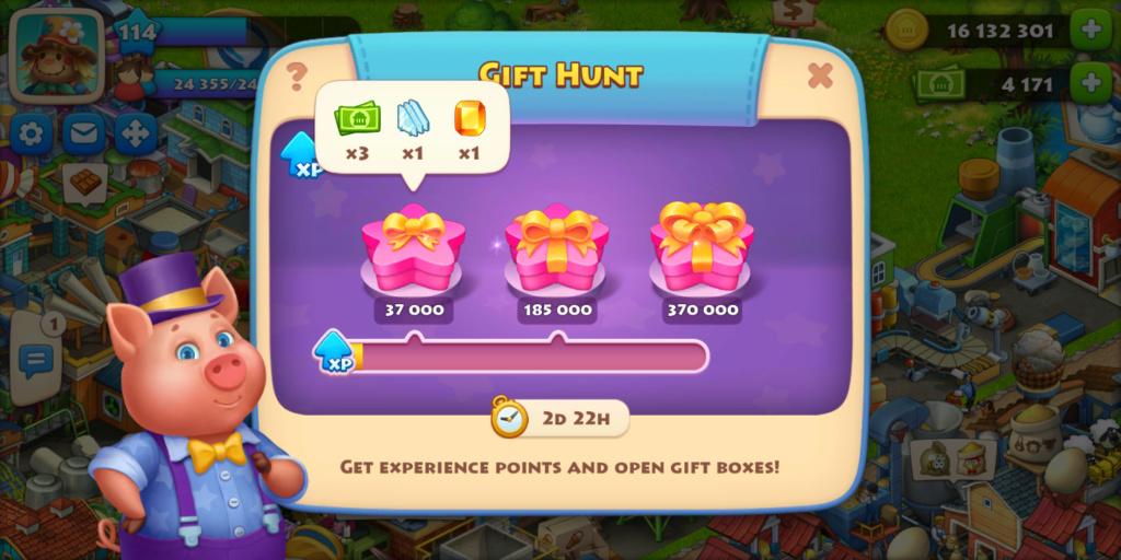 Gift Hunt! Screen24