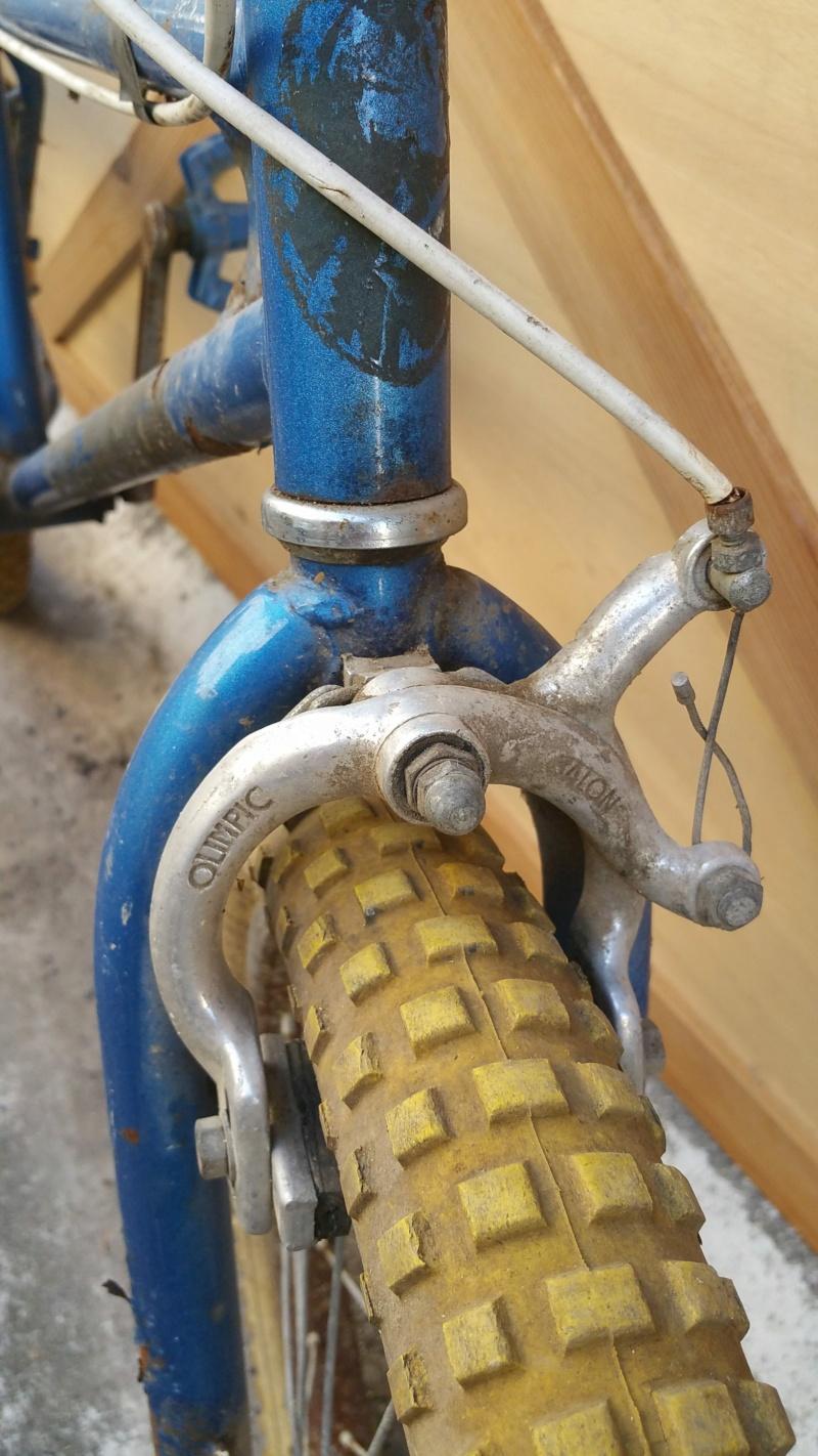 BMX BH bleu Bh-bmx11