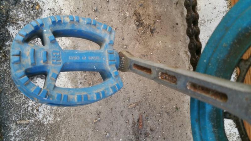 BMX BH bleu Bh-bmx14